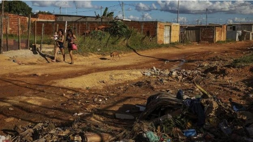 브라질리아 인근 빈곤 지역