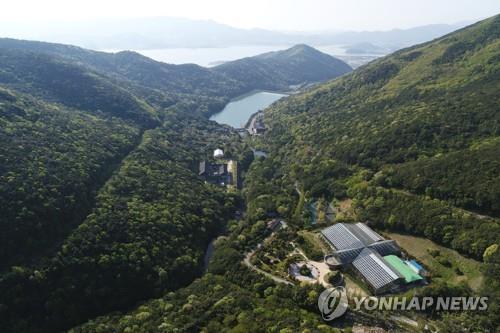 난대림 펼쳐진 전남 완도 수목원