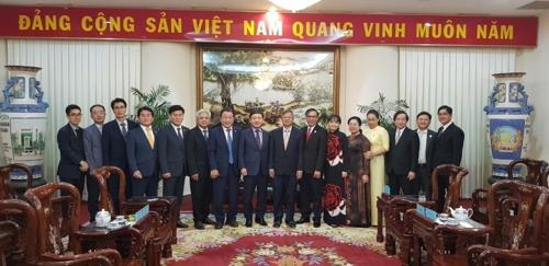 김해시 베트남 방문
