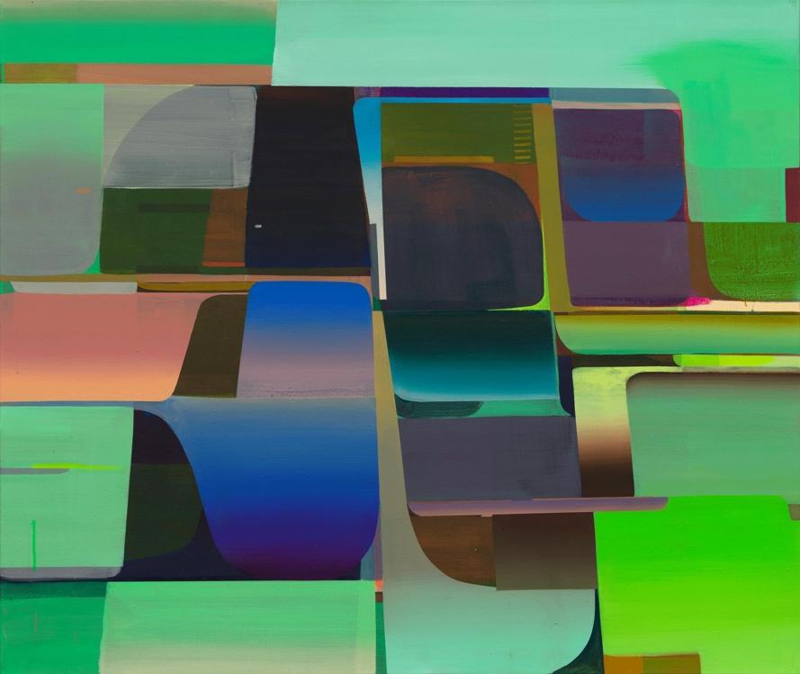 성낙희, 'Sequence 1', 2019, Acrylic on canvas, 110x130cm [페리지갤러리 제공]