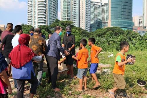인도네시아판 '구룡마을'에 닿은 한국인의 온정