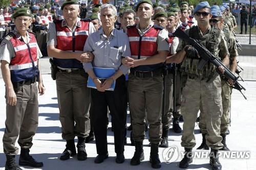 쿠데타 혐의로 가중처벌 종신형을 선고 받은 전 터키 공군사령관