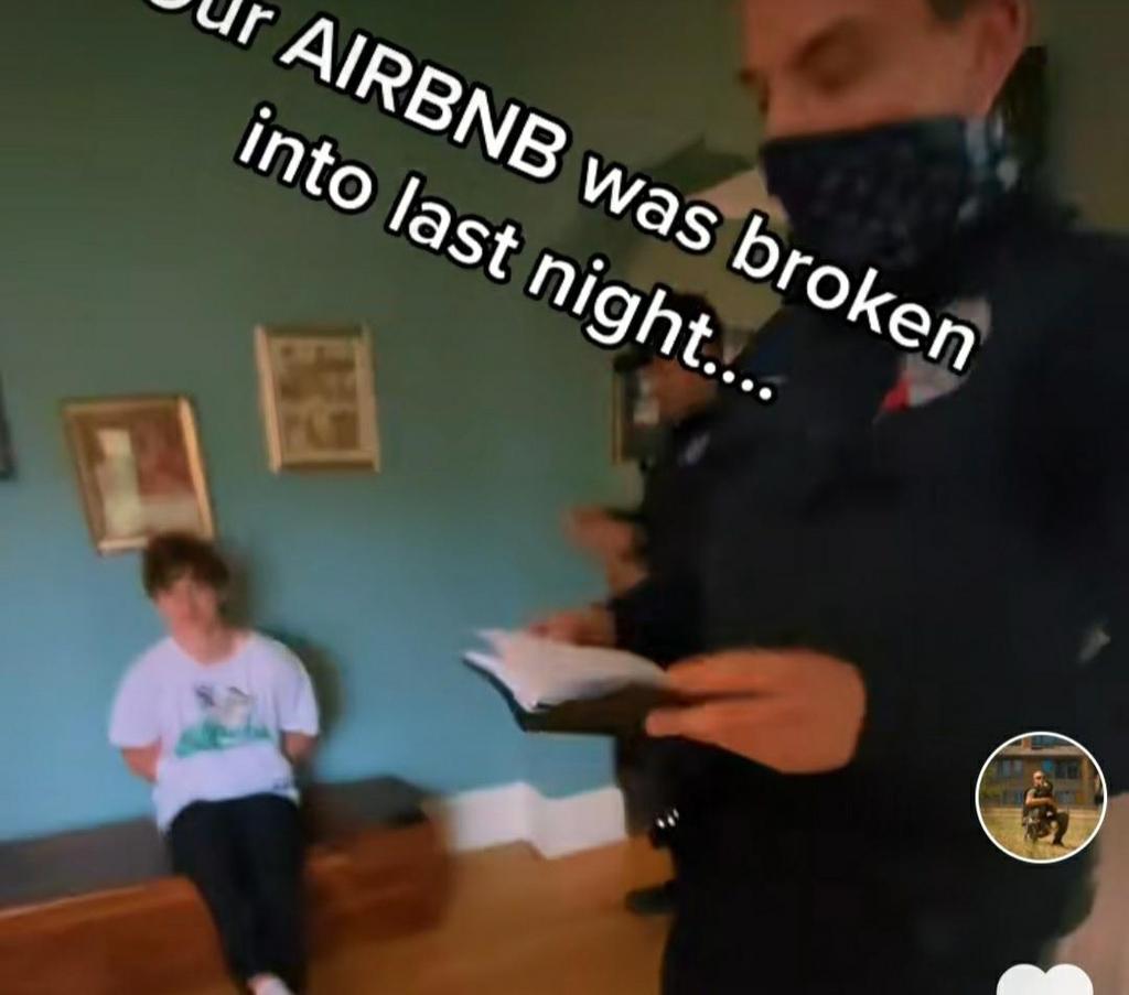 만취해 경찰 숙소에 침입한 청년
