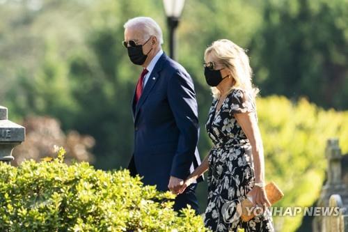 조 바이든 미국 대통령과 질 바이든 여사