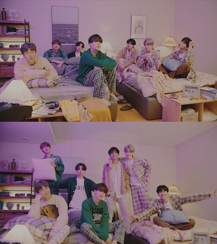 "Las imágenes, proporcionadas por Big Hit Entertainment, muestran unas escenas de la versión ""on my pillow"" (sobre mi almohada) del vídeo musical de la canción ""Life Goes On"" del álbum ""BE"", de la superestrella del K-pop, BTS. (Prohibida su reventa y archivo)"