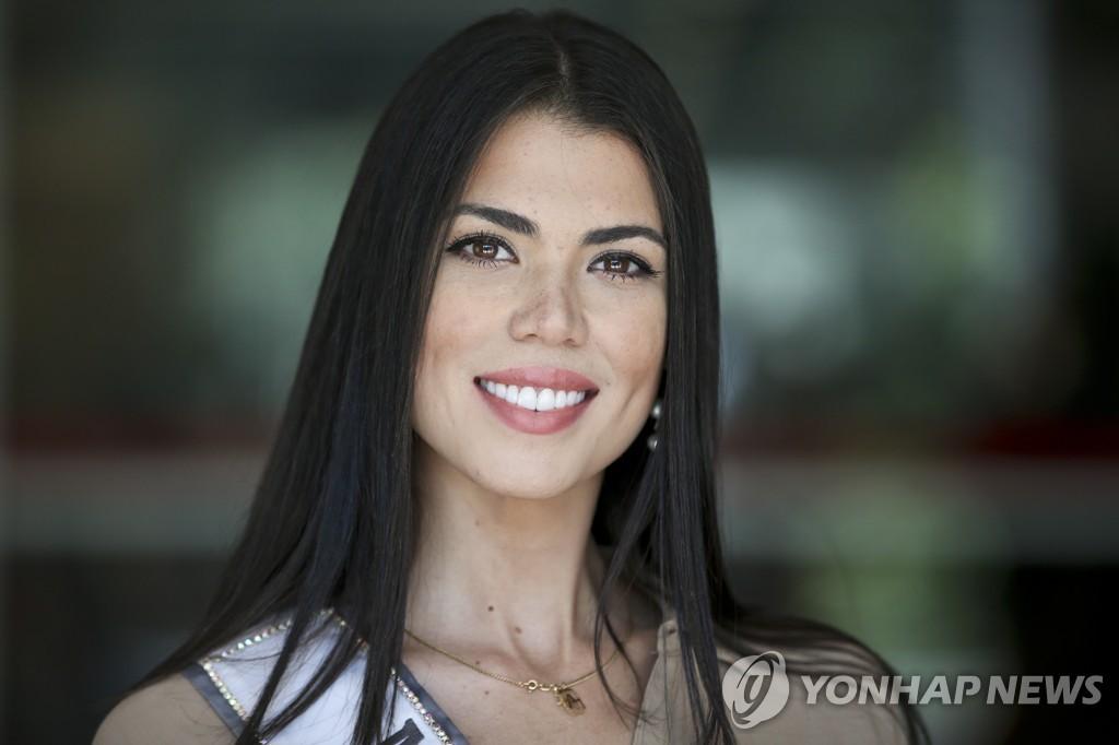 베네수엘라 미인대회 우승자로 칠레로 이주한 안드레아 디아스 [AP=연합뉴스]