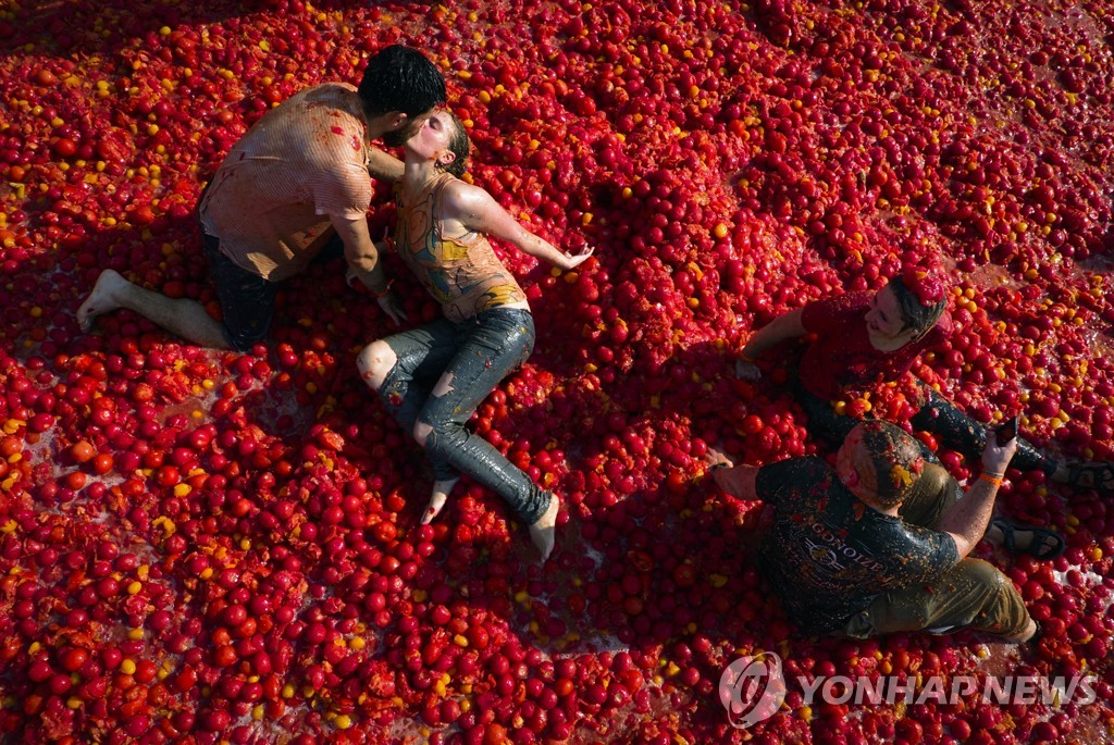Russia Tomato Fight