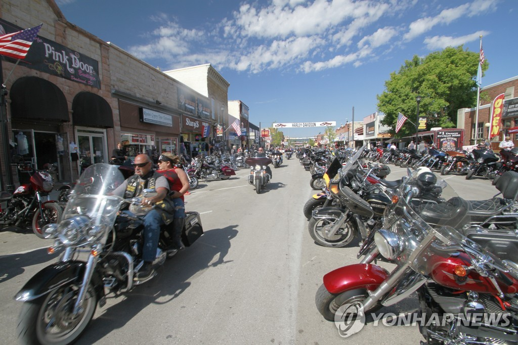 Virus Outbreak Sturgis Rally