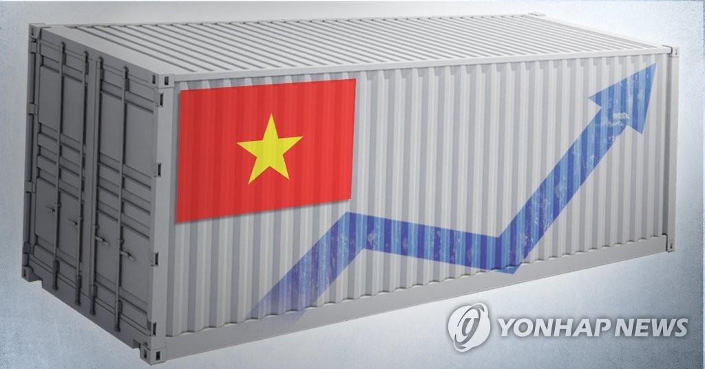 베트남 수출 상승 (PG)