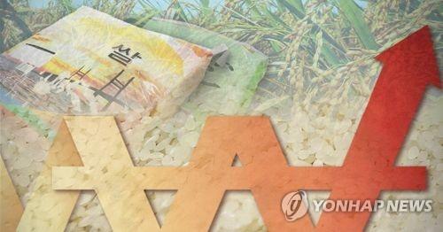 쌀 가격 상승(PG)