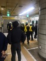 (LEAD) Subway train derails in northern Seoul, no injuries reported