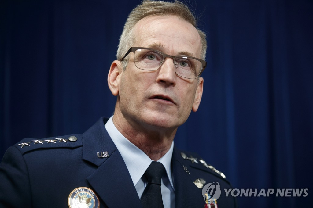 This EPA file photo shows General Terrence O'Shaughnessy, commander of United States Northern Command and North American Aerospace Defense Command. (Yonhap)