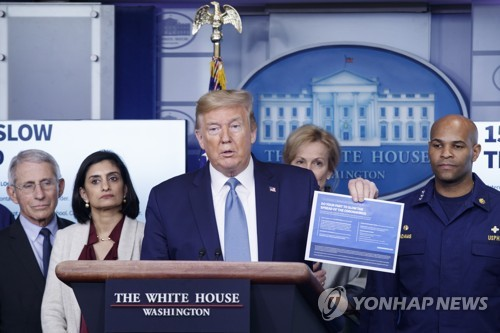 Trump: S. Korea did 'good job' but had 'tremendous problems' fighting virus