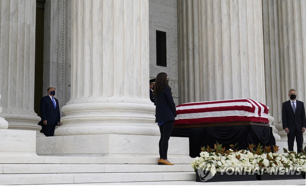 USA PEOPLE GINSBURG SUPREME COURT RBG OBIT