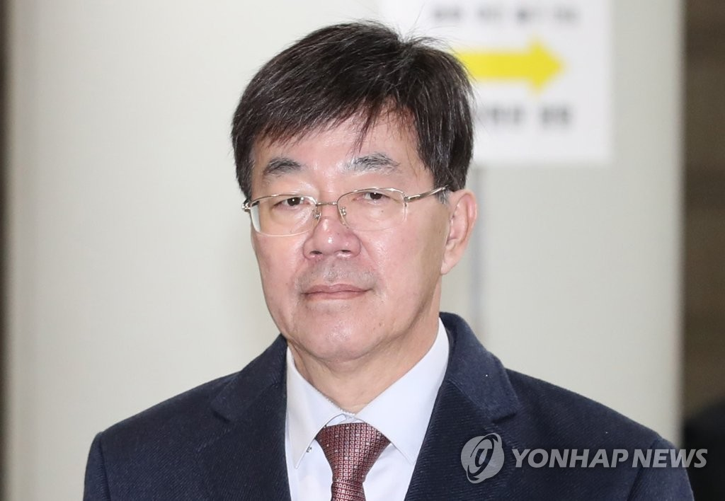 Lee Young-ryeol, former head of the Seoul Central District Prosecutors' Office, is pictured in this photo filed Oct. 25, 2018. (Yonhap)