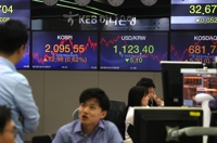 (LEAD) Seoul shares end higher on Sino-U.S. trade optimism