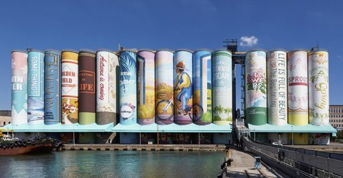 World's largest mural