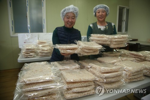 Shipping of Korean confectioneries ahead of holiday