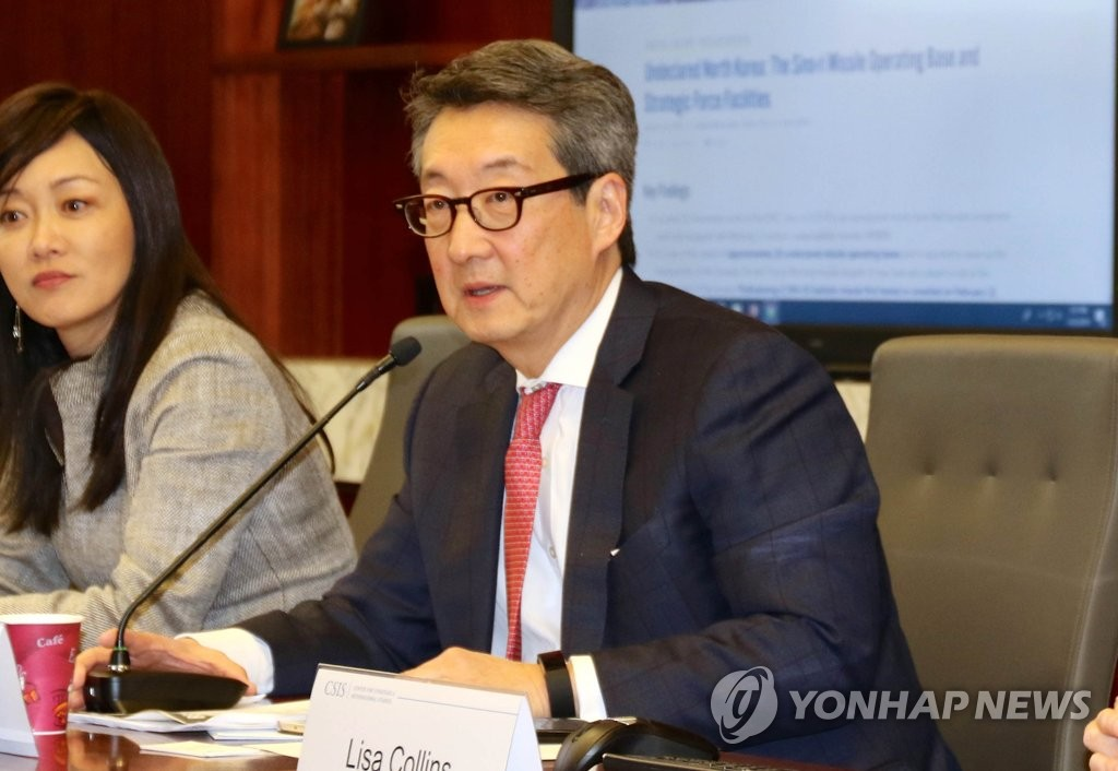 This file photo shows Victor Cha, a Korea expert at the Center for Strategic and International Studies in Washington. (Yonhap)