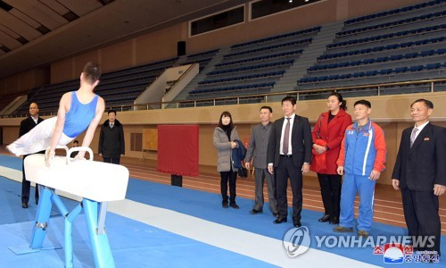 N  Korea to favorably consider participating in gymnastics event in