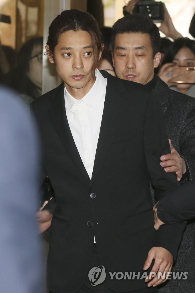 Singer Jung Joon-young quizzed in sex video probe