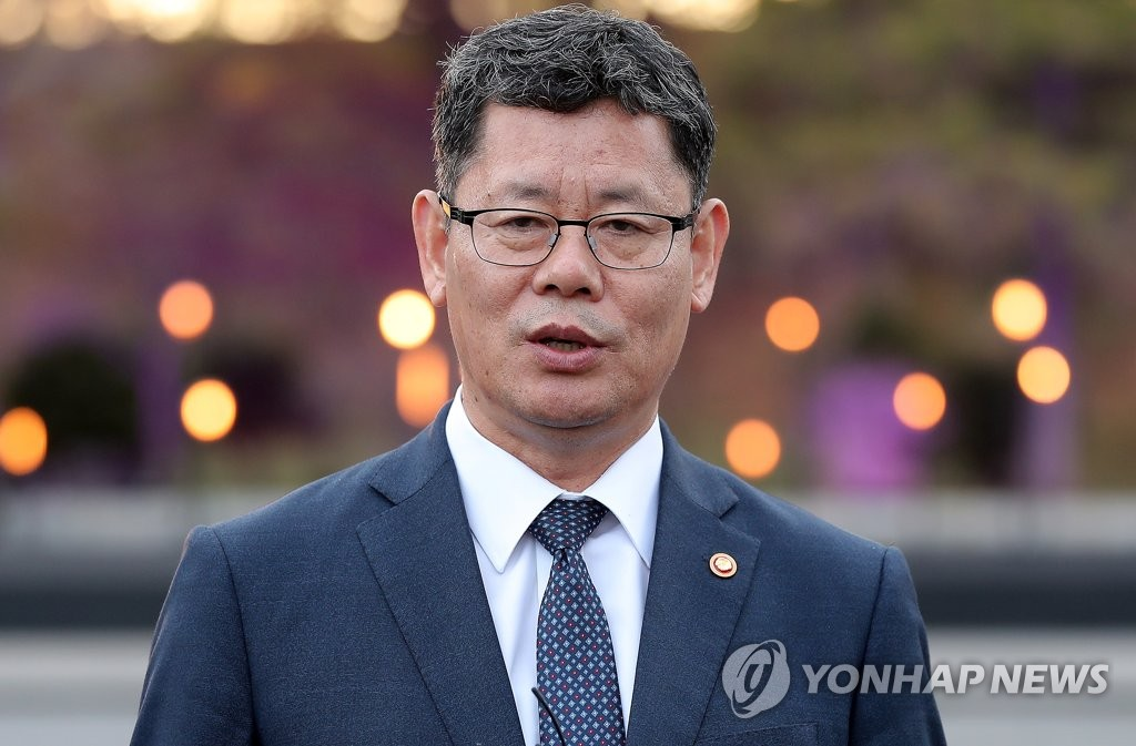 Le ministre de l'Unification Kim Yeon-chul.