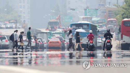 S. Korea hit by heat wave