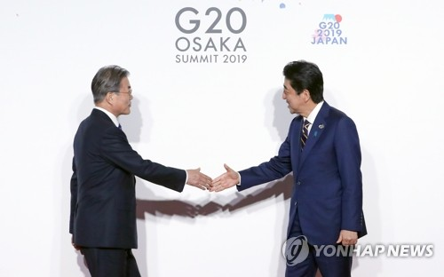 (LEAD) (News Focus) Will S. Korea, Japan find momentum to ease tensions?