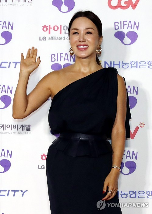 S. Korean actress Um Jung-hwa