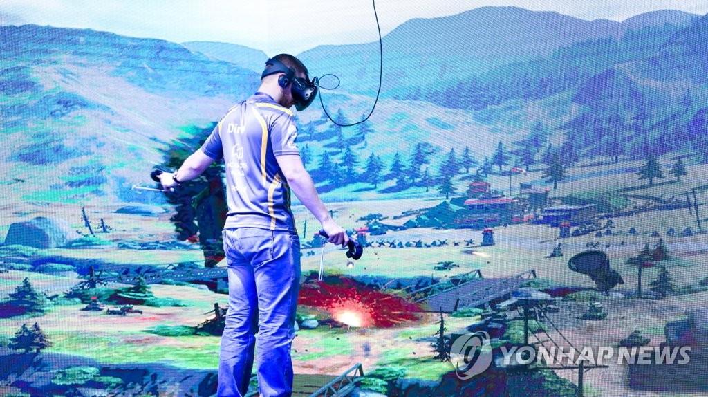 WCG 2019 Xi'an'에서 열린 VR 챔피언십 | 연합뉴스