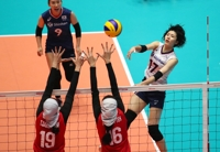S. Korea cruises past Iran to open Asian Women's Volleyball Championship