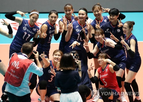 S. Korea clinches spot in women's volleyball Olympic qualifier
