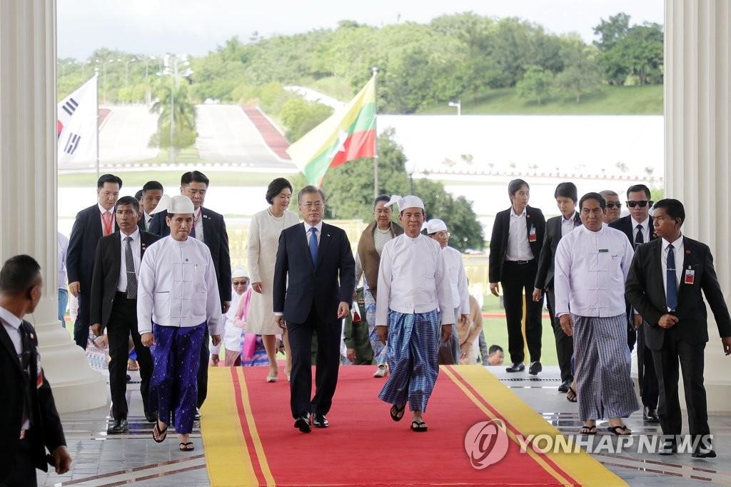 4th LD) S  Korea, Myanmar reach summit deal to boost