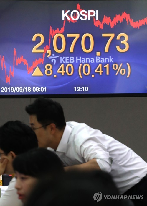 Stocks gain for 9th day