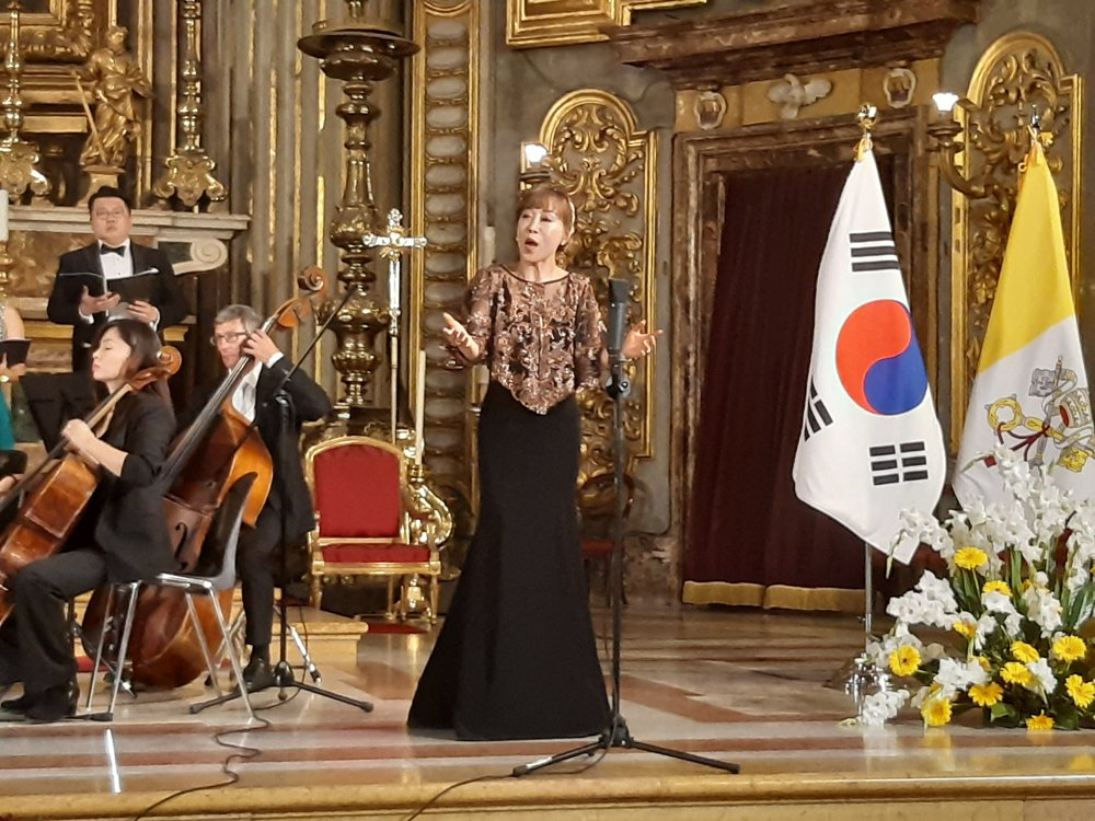 Concert for peace on Korean Peninsula