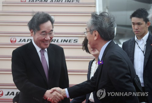 (4th LD) PM Lee hopes his trip to Japan will help Seoul-Tokyo ties take step forward