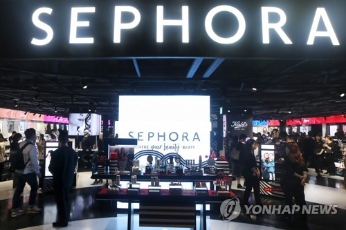 Sephora's debut in Seoul