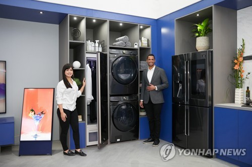 Samsung tops U.S. home appliances market for 4th consecutive year: data