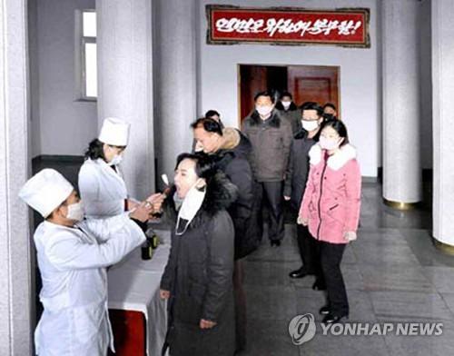 북한, 신종코로나 방역에 총력