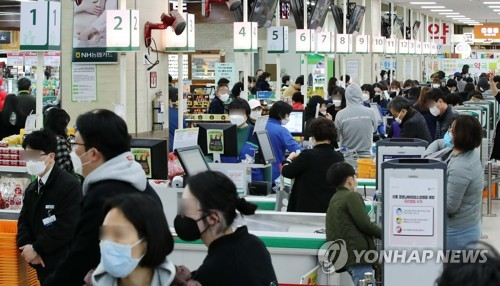 Retail sales up 9.1 pct in Feb. amid virus pandemic