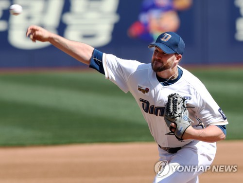 (Yonhap Interview) American pitcher Mike Wright ready for 'challenge' vs. ex-MLB teammate in KBO