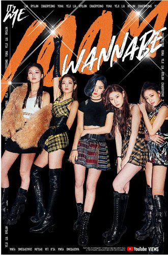ITZY's 'WANNABE' surpasses 100 million views
