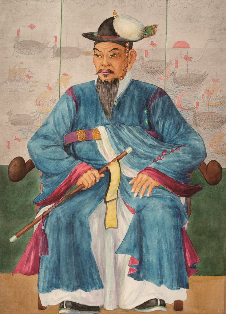"This image, provided by With Book, shows a presumed portrait of Joseon era Navy Adm. Yi Sun-sin by late Scottish painter Elizabeth Keith. The portrait was included in the revised Korean edition of ""Old Korea: The Land of Morning Calm"" by Keith and her sister E.K. Robertson Scott, published by With Book on June 10, 2020. (PHOTO NOT FOR SALE) (Yonhap)"