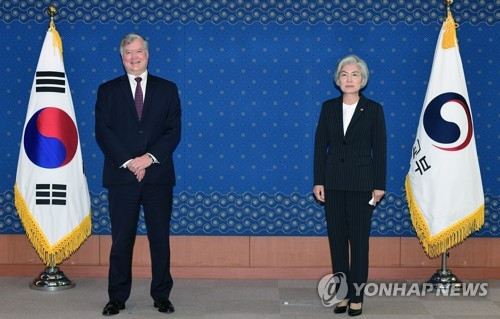 Foreign minister meets U.S. point man for N. Korea
