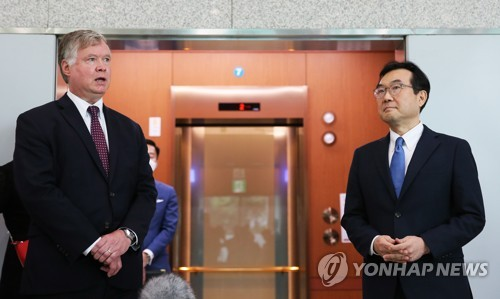 Biegun wraps up his visit to S. Korea amid stalled N.K. diplomacy