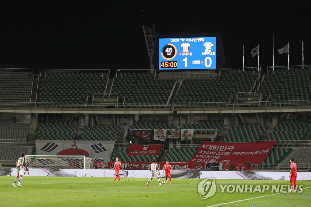 S. Korea to play Nov. football friendlies in Austria: source