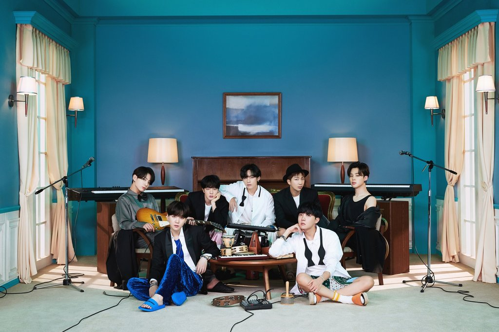 "This photo, provided by Big Hit Entertainment, shows a concept photo of K-pop sensation BTS' new album ""BE,"" set to be released on Nov. 20, 2020. (PHOTO NOT FOR SALE) (Yonhap)"