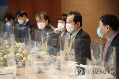 PM Chung encourages medical experts in Daegu