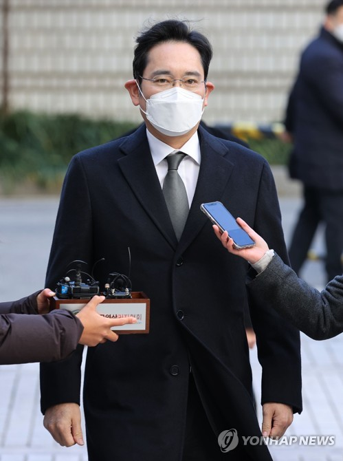 Samsung heir at court