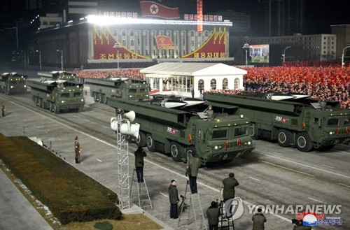 (5th LD) N. Korea fires 2 short-range ballistic missiles into East Sea: JCS